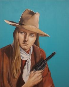 Self-Portrait as John Wayne (2015)